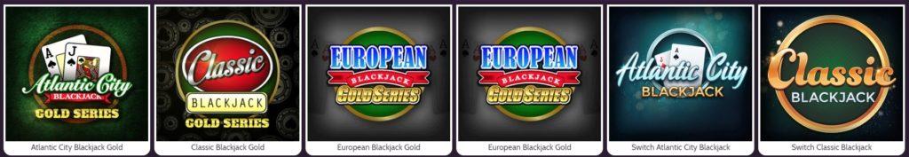 mummys gold casino blackjack