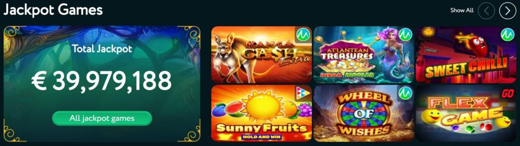 goodwin casino games