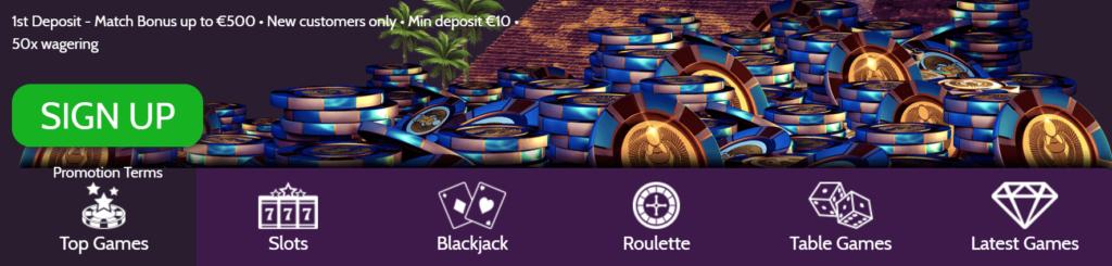 Mummy's Gold Casino Bonus