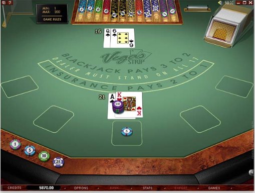grand mondial blackjack