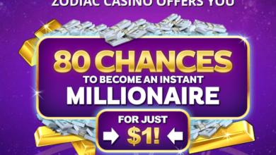 Photo of Zodiac Casino 80 Free Spins