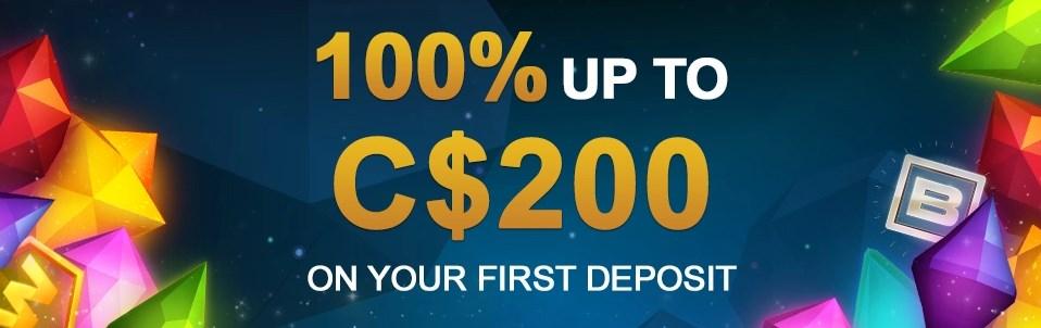 welcome online casino bonuses